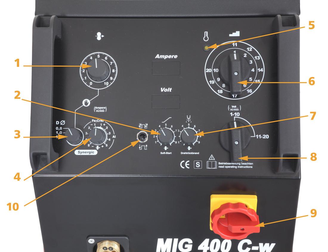 AMEX MIG 400 C-W SCHUTZGAS-SCHWEISSANLAGE / SET